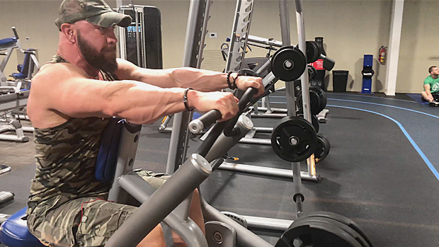 Tip: Chest-Supported Row Machine | T NATION