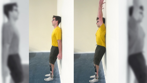 Back-to-Wall Flexion