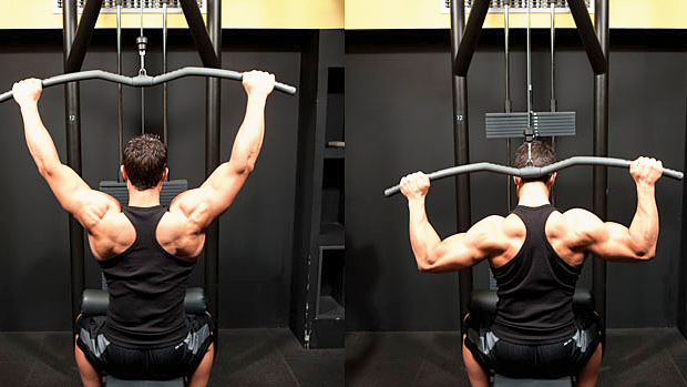 Behind the Neck Pulldown