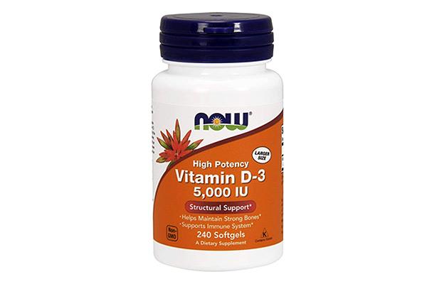 NOW Vitamin D3 5000 IU