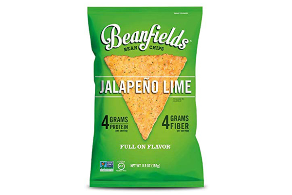 Beanfields Jalapeno Lime Bean Chips, 5.5 OZ (Pack of 4)