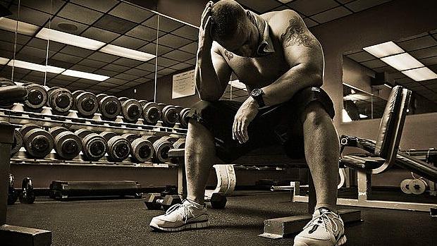 Tired Bodybuilder