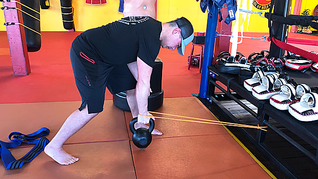 Typical Banded Dumbbell Row 1